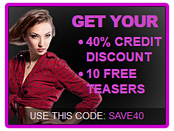 GET YOUR CREDIT DISCOUNT!